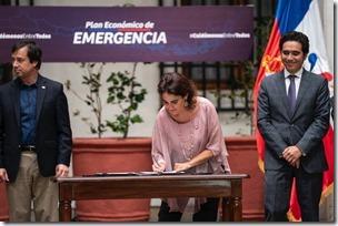 Ministra Zaldívar Plan Económico (1)